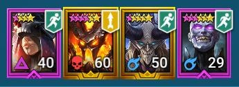 epic and legendary champions
