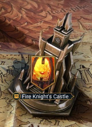 fire knight castle dungeon