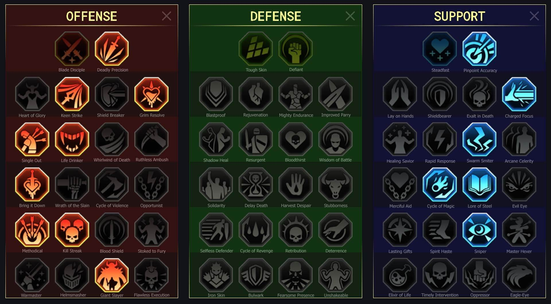 Drexthar-Bloodtwin-arena-campaign-masteries