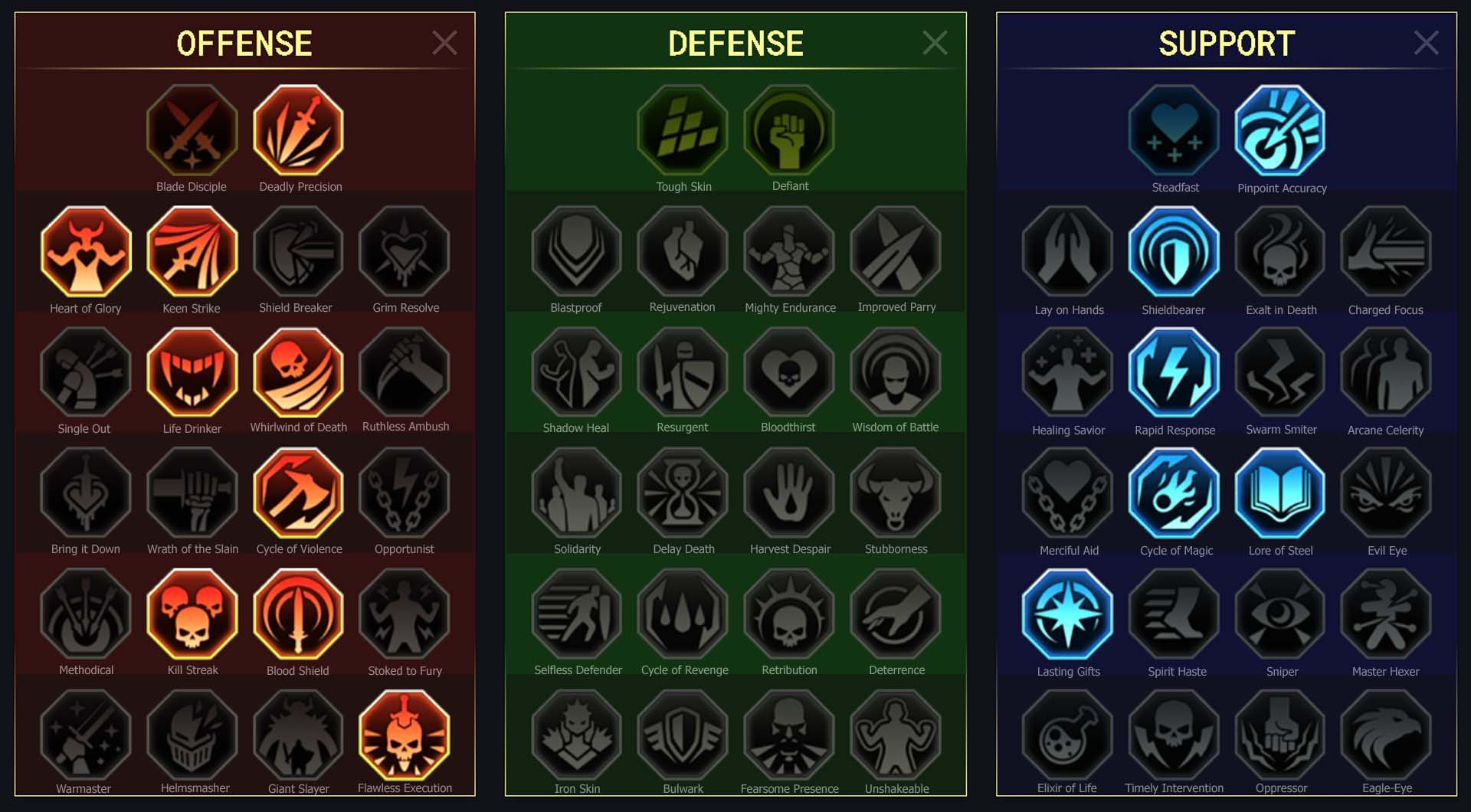 Valkyrie Arena Campaign Faction Wars
