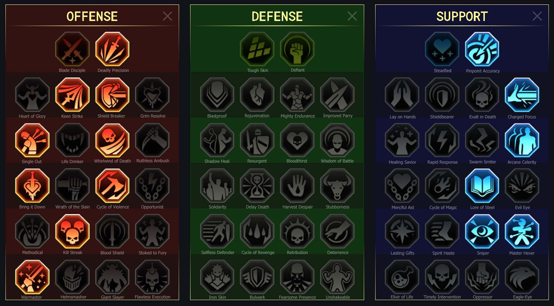 Luthiea Arena Campaign Faction Wars