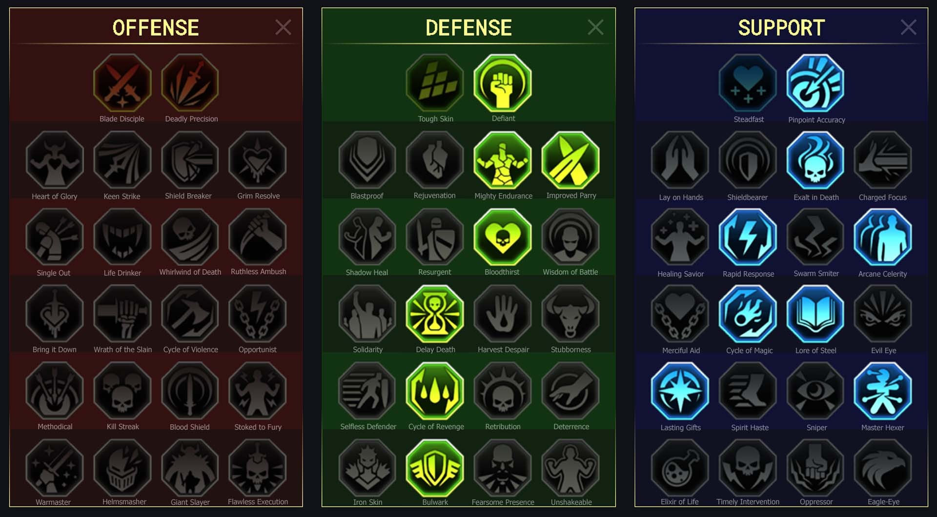 Runic Warder Arena Campaign Faction Wars