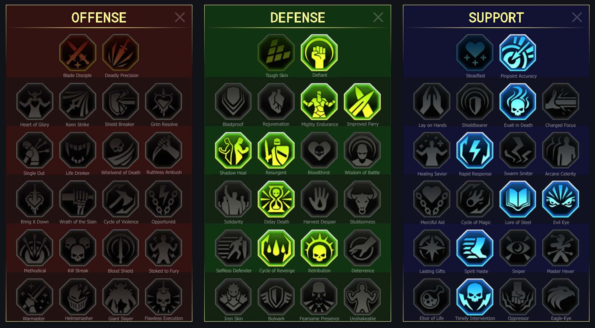 Seeker Arena Campaign Faction Wars