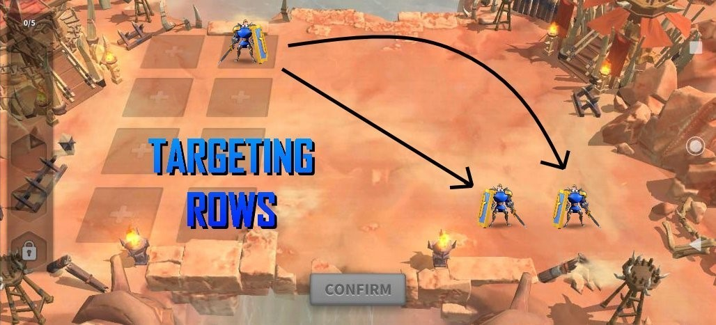 targeting rows strategy