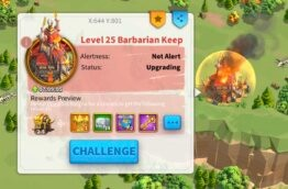 What Are Barbarians Camps and Keeps?